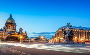 Санкт Петербург и Москва със скоростния влак САПСАН 31.07.2021г.